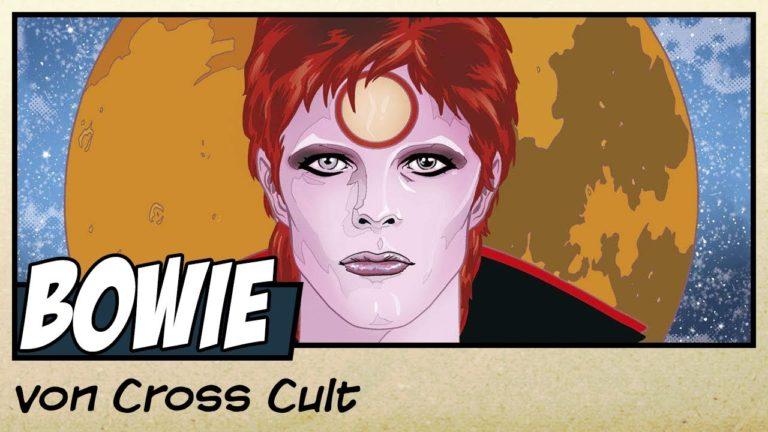 Comicvorstellung: Bowie – Sternenstaub, Strahlenkanonen und Tagträume von Cross Cult (Video)