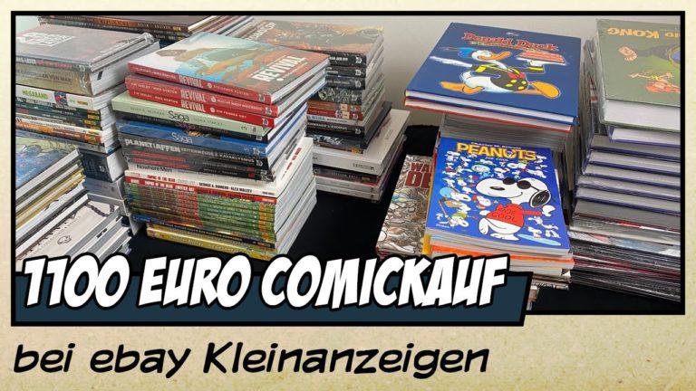 Wie ich eine Comicsammlung für 1100 Euro auf ebay Kleinanzeigen gekauft habe (Video)