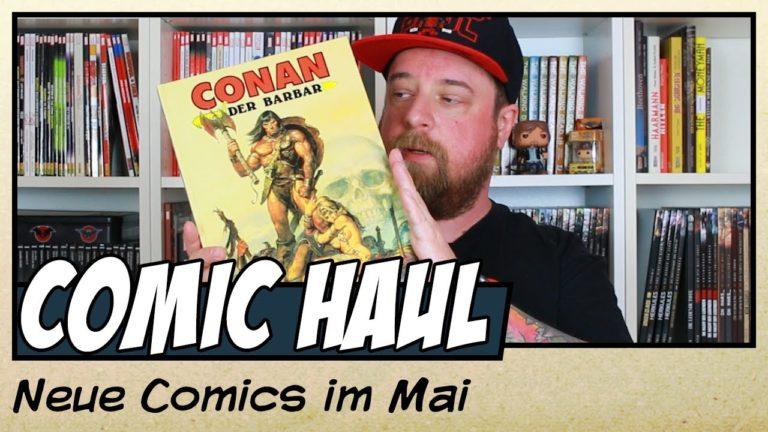 Meine Comic Neuzugänge im Mai 2020 (Video)