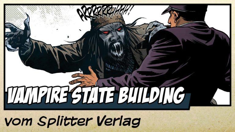 Comicvorstellung: Vampire State Building Teil 1 vom Splitter Verlag (Video)