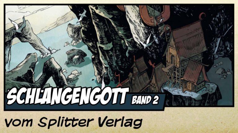 Comicvorstellung: Schlangengott Band 2 – Der Tempel des Rabengottes vom Splitter Verlag (Video)