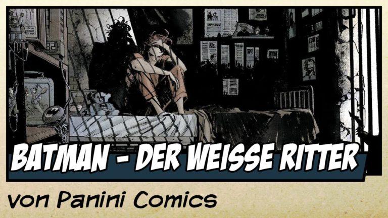 Comicvorstellung: Batman – Der weiße Ritter von Panini Comics