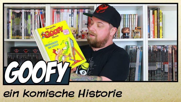 Biografisch und historisch: Goofy – Eine komische Historie von Egmont (Video)