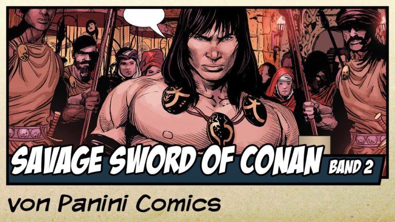 Comicvorstellung: Savage Sword of Conan Band 2 – Der Spieler von Panini Comics (Video)