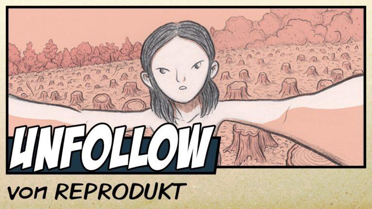 Comicvorstellung: Unfollow von REPRODUKT (Video)