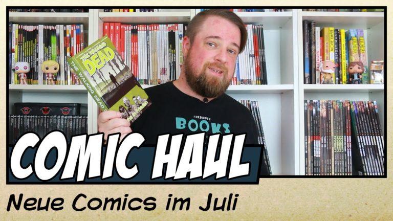 Meine Comic Neuzugänge im Juli 2020