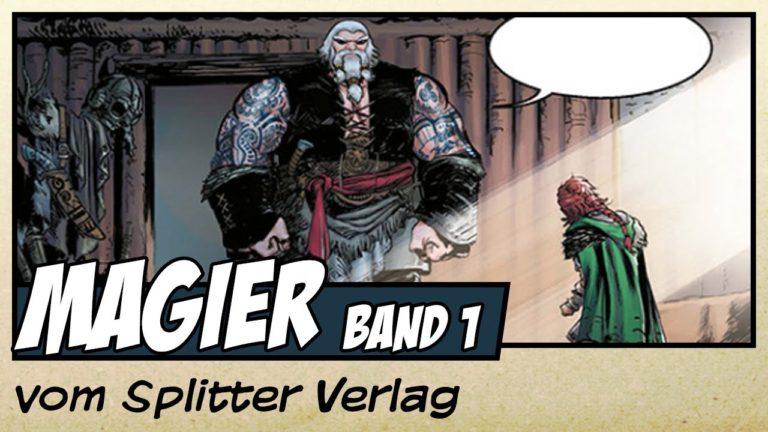 Comicvorstellung: Magier Band 1 – Aldoran vom Splitter Verlag (Video)