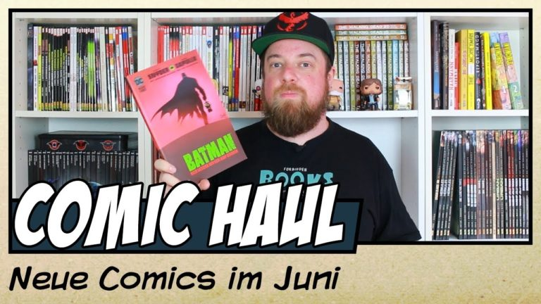 Meine Comic Neuzugänge im Juni 2020 (Video)