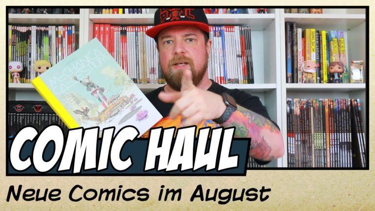 Meine Comic Neuzugänge im August 2020