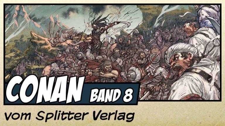 Comicvorstellung: Conan der Cimmerier Band 8 – Der schwarze Kreis vom Splitter Verlag (Video)
