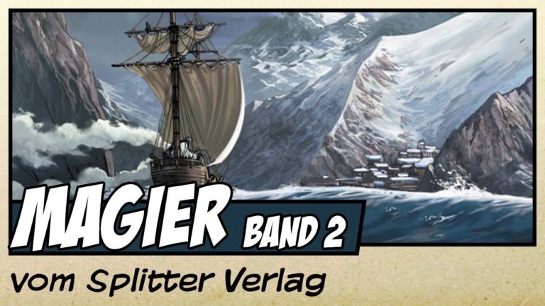 Comicvorstellung: Magier Band 2 – Eragan vom Splitter Verlag (Video)