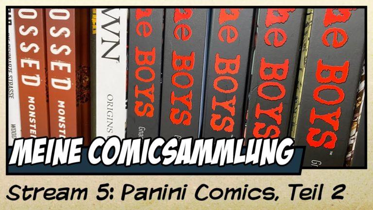 Meine Comicsammlung von Panini  Comics – Teil 2 (Video)